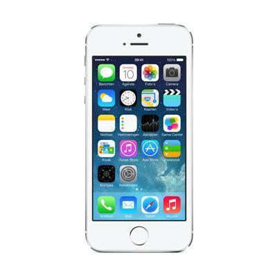 Apple 5S 16GB  Zilver - Refurbished - Geen tot lichte gebruikssporen Smartphones