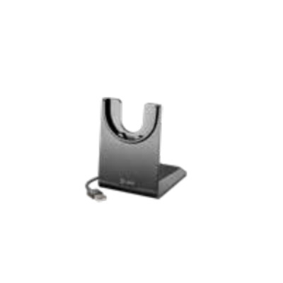 POLY Spare, charge stand type C, Voyager 4220 Oplader - Zwart