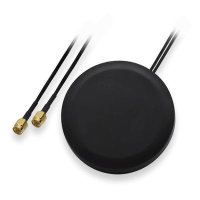 Teltonika LTE, 698-960/1710-2690 MHz, IP67, 2x RG174, 3000 mm, 80x15 mm Antenne - Zwart