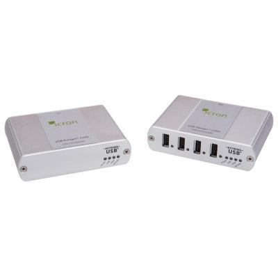 Icron netwerk verlenger: USB Ranger 2204 - Zilver