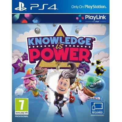 Sony game: Knowledge is Power  PS4