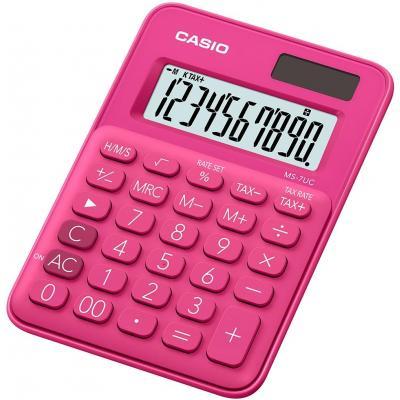 Casio MS-7UC Calculator - Rood
