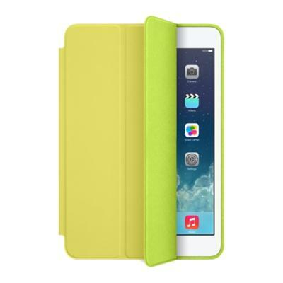 Apple tablet case: iPad mini Leer Smart Case  - Geel