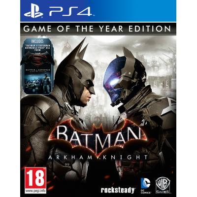 Warner bros game: Batman: Arkham Knight (GOTY Edition)  PS4