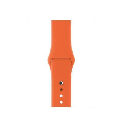 Apple horloge-band: Sportbandje - Sinaasappel 38 mm - Oranje