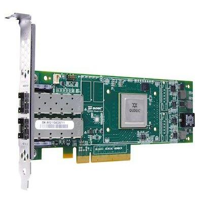 Lenovo netwerkkaart: 16Gb FC 2-port HBA - Groen, Metallic