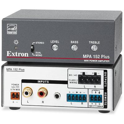 Extron MPA 152 Plus Audio versterker - Zwart