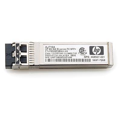 Hewlett packard enterprise media converter: 8-Gb kortegolf B-serie Fibre Channel SFP+ transceiver