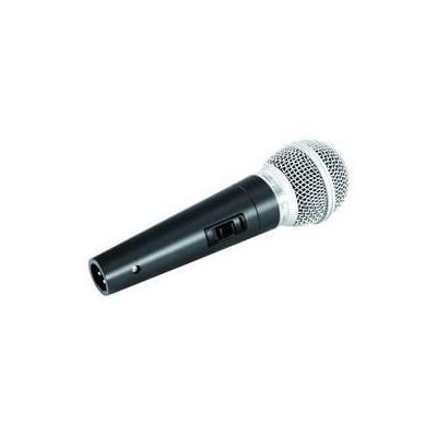 Omnitronic microfoon: M-60 - Zwart