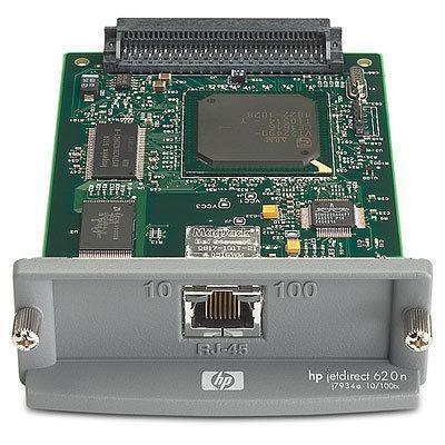 Hp printer server: Jetdirect 620n Refurbished - Grijs
