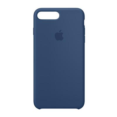 Apple mobile phone case: Siliconenhoesje voor iPhone 8 Plus/7 Plus - Donker kobalt - Blauw