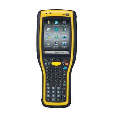 CipherLab 9700 - Alphanumeric PDA - Zwart, Geel