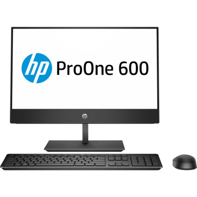 Hp all-in-one pc: ProOne 600 G4 - Zwart