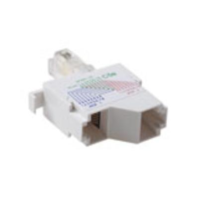 Intronics UTP Splitter - 2x 8 wires Telefoon splitter