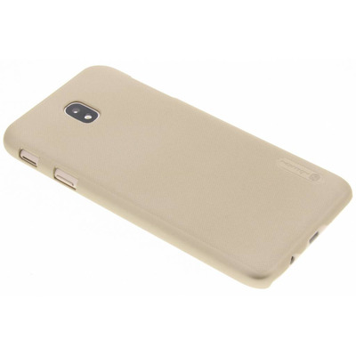 Frosted Shield Backcover Samsung Galaxy J7 (2017) - Goud / Gold Mobile phone case