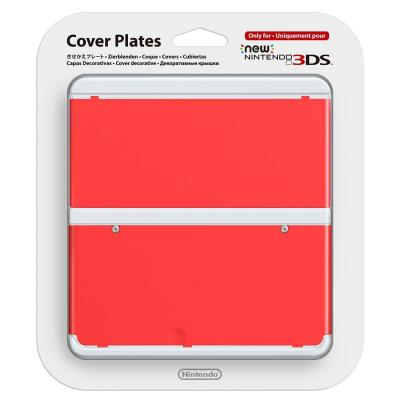 Nintendo portable game console case: New 3DS Cover 018 - Rood