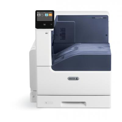 Xerox laserprinter: VersaLink VersaLink C7000, A3, 35/35 ppm Printer, Adobe PS3 PCL5e/6, 2 Trays, Total 620 sheets - Wit
