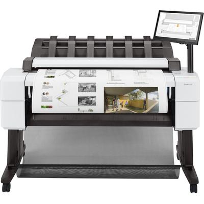 HP Designjet T2600 Grootformaat printer - Cyaan,Grijs,Magenta,Mat Zwart,Foto zwart,Geel