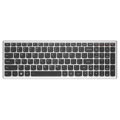 Lenovo Keyboard for Ideapad Z710 notebook reserve-onderdeel - Zwart, Metallic