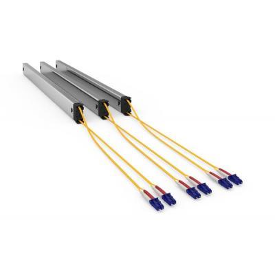 PATCHBOX Plus+ Cassete OS2, Long Range, Pack of 3, LC-LC - Zwart, Zilver