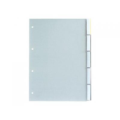 Staples schutkaart: Tabblad SPLS A4 11r venstertab trans/se5