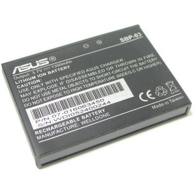Asus batterij: Li-Ion 1300mAh - Zwart