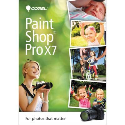 Corel grafische software: PaintShop Pro X7, ML