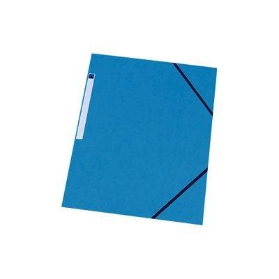 5star map: Folder with Elastic Bands, No Flap, Blue - Blauw