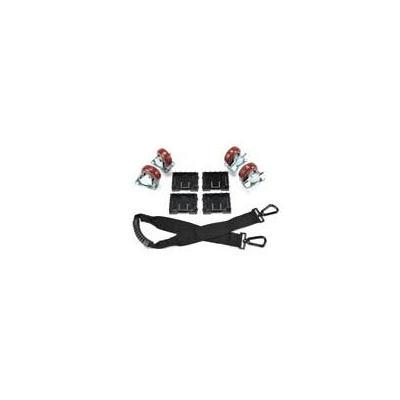 Peli Caster Set, Black Case accessoire - Zwart, Zilver