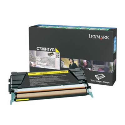 Lexmark C736H1YG cartridge