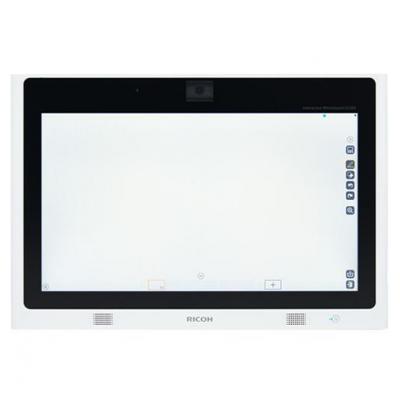 Ricoh interactieve schoolborden & toebehoren: D2200 - Zwart, Wit
