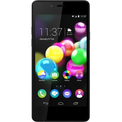 Wiko smartphone: HIGHWAY PURE  (zwart/turquoise)