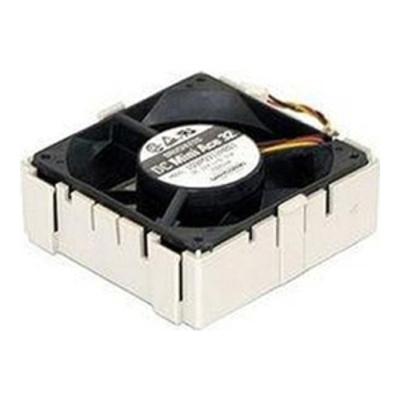 Supermicro Rear fan W/ Housing Hardware koeling - Beige, Zwart