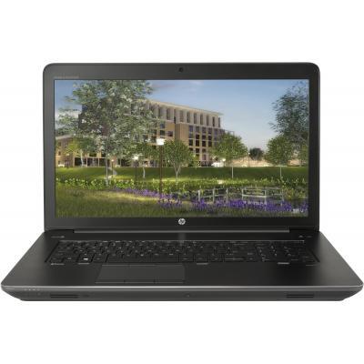Hp laptop: ZBook 17 G4 - Zwart