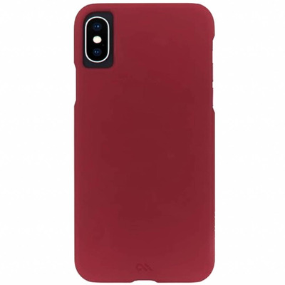 Barely There Backcover iPhone X / Xs - Rood / Red Mobile phone case