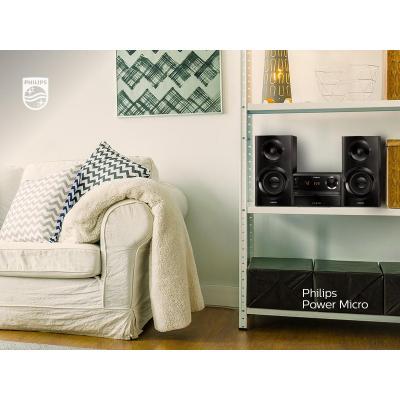 Philips home stereo set: Micromuzieksysteem BTM2360/12 - Zwart