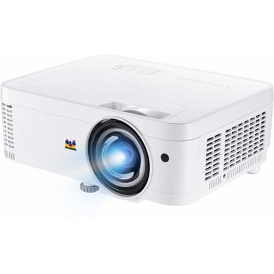 "Viewsonic PS501W, WXGA, DLP, 3400 lumens, 1280 x 800, 30 - 300"", 32dB, 2W, 3D, 292 x 115 x 236 mm, White ....."
