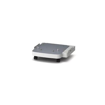 Oki printerkast: Castor base - Zilver, Wit