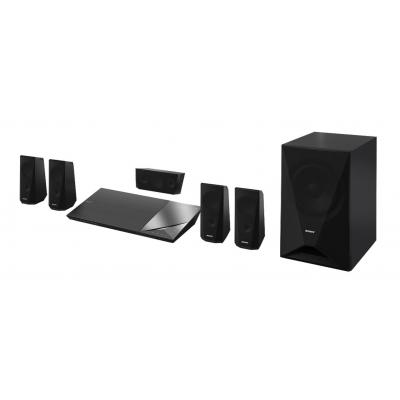 Sony home cinema system: 3D Blu-ray™-Home Theatre-systeem - Zwart