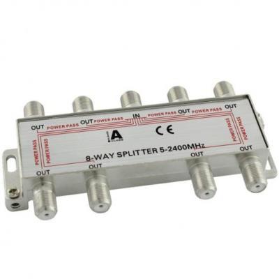 Ligawo kabel splitter of combiner: 6552104 - Zilver