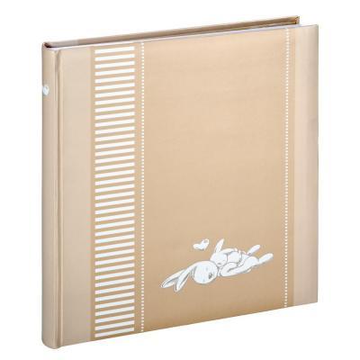"""Hama album: """"Lasse"""" Bookbound Album, 29x32 cm, 50 white pages, beige"""