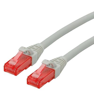 ROLINE Cat6 0.5m Netwerkkabel - Grijs