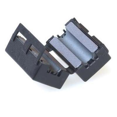 Intronics LF65 (Ferriet Blokje 6.5 mm) Montagekit - Zwart