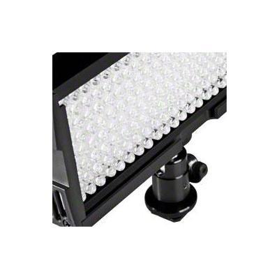 Walimex led lamp: LED Video Light with 128 LED - Zwart, Wit