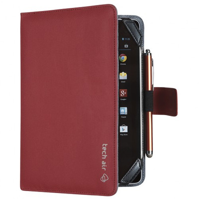 "Tech air 7.0"" Tablet Universal Folio Case, 176g, Red Tablet case"