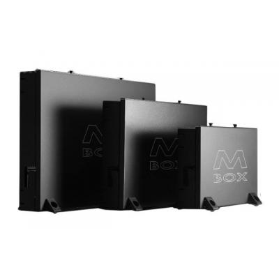 EFB Elektronik Periphery Box M-Box, Small, (WxHxD) 280x195x60 mm, RAL9005, IP10