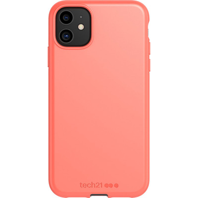 Antimicrobial Backcover iPhone 11 - Coral - Koraal Mobile phone case