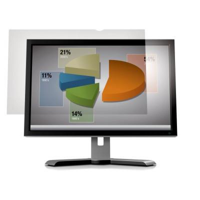 """3m screen protector: Filter anti-schittering voor breedbeeldscherm voor desktop 23"""" - Transparant"""
