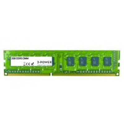2-power RAM-geheugen: 2GB MultiSpeed DIMM - Groen