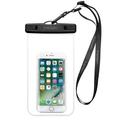 Spigen 000EM20923 Mobile phone case - Zwart, Transparant
